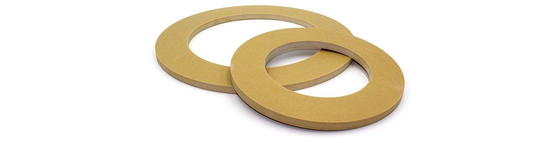 gotowe okrągłe elementy na bazie tworzyw sztucznych